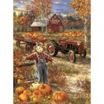 Puzzle  Sunsout-57144 Dona Gelsinger - The Pumpkin Patch Farm
