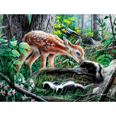 Puzzle Sunsout-57776 Pièces XXL - Friends of the Forest