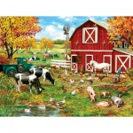 Puzzle  Sunsout-59760 Pièces XXL - A Day on the Farm
