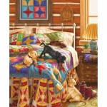 Puzzle  Sunsout-59782 Liz Goodrick Dillon - Bedtime Battle
