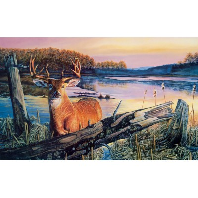 Puzzle Sunsout-60841 Pièces XXL - By Dawn's Early Light