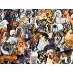 Puzzle  Sunsout-60930 Pièces XXL - Dog World