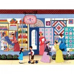 Puzzle  Sunsout-61304 Shelia Lee - SunBonnet Quilt Shop