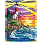 Puzzle  Sunsout-62914 Pièces XXL - Dolphin Bay Lighthouse