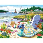 Puzzle  Sunsout-63061 Pièces XXL - Essence of Summer