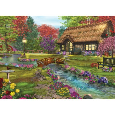 Puzzle Sunsout-66589 Caplyn Dor - Welcome Home Valley