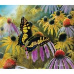 Puzzle  Sunsout-67322 Jim Hansel - Swallowtail Vistor
