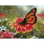 Puzzle  Sunsout-67362 Pièces XXL - Monarch Butterfly