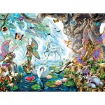 Puzzle  Sunsout-68020 Adrian Chesterman - Fairies at the Falls