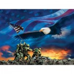 Puzzle  Sunsout-69038 Pièces XXL - Grand Old Flag