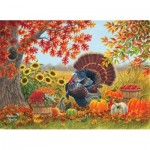 Puzzle  Sunsout-69656 Abraham Hunter - Harvest Garden