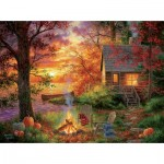 Puzzle  Sunsout-69676 Pièces XXL - Abraham Hunter - Sunset Serenity