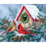 Puzzle  Sunsout-69686 Abraham Hunter - Winter Home