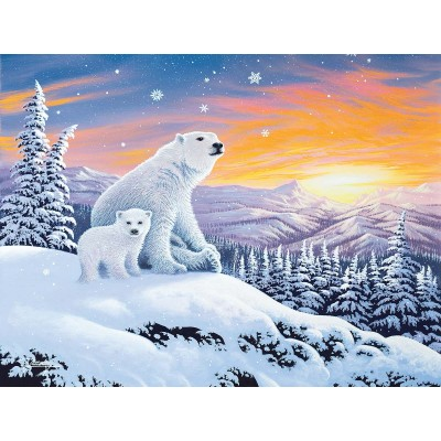 Puzzle Sunsout-70266 Pièces XXL - The Snow Bears