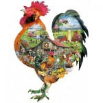Puzzle  Sunsout-95880 Lori Schory - Rule the Roost