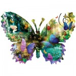Puzzle  Sunsout-96024 Pièces XXL - Alixandra Mullins - Forest Butterfly