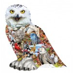 Puzzle  Sunsout-96076 Snowy Owl