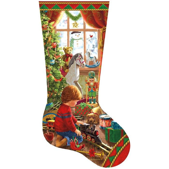 Liz Goodrick Dillon - A Boy's Stocking