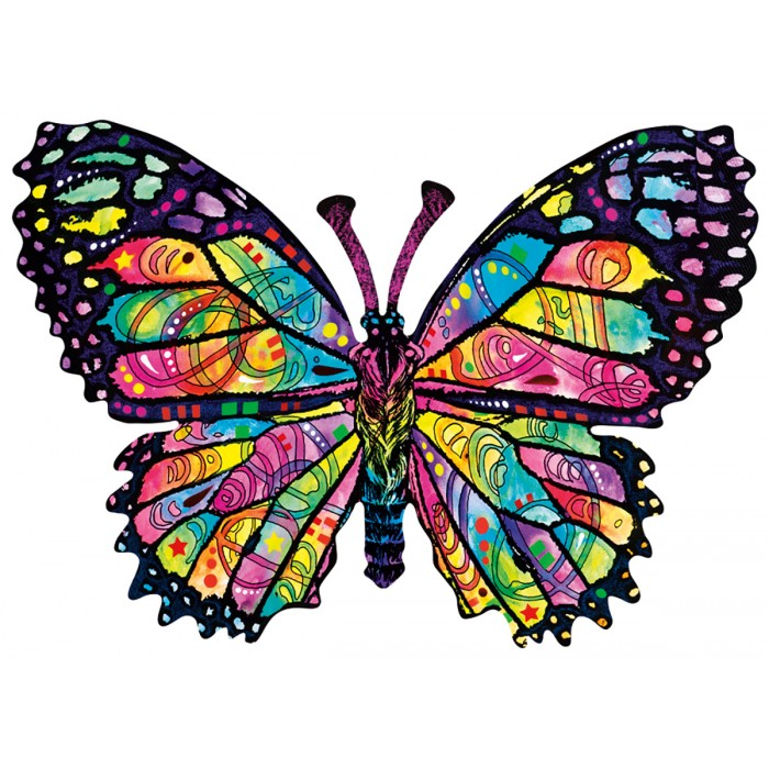 Dean Russo - Stained Glass Butterfly