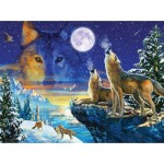 Puzzle   Adrian Chesterman - Howling Wolves