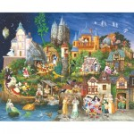 Puzzle  Sunsout-CN67543 James Christensen - Fairy Tales