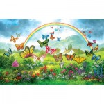 Puzzle   Dennis Lewan - Butterfly Holiday