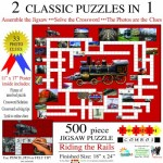 Irv Brechner - Puzzle Combo: Riding the Rails