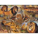 Puzzle   Janet Stever - Big Cats of the Plains