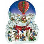 Puzzle   Pièces XXL - Barbara Behr - Old Fashioned Snow Globe