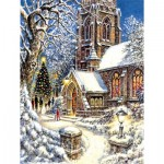 Puzzle   Pièces XXL - Church in the Snow