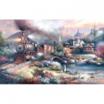 Puzzle   Pièces XXL - James Lee -  Maryland Mountain Express