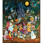 Puzzle   Pièces XXL - Trick or Treat Dogs