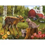Puzzle   Pièces XXL - Want to be Friends