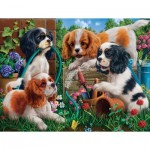 Puzzle   Pups in the Garden