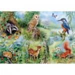 Puzzle  The-House-of-Puzzles-1424 Pièces XXL - Nature Study