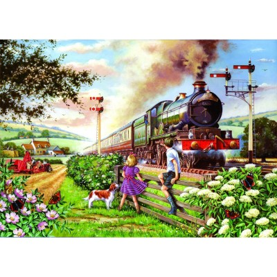 Puzzle The-House-of-Puzzles-1615 Pièces XXL - Railway Children