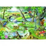 Puzzle  The-House-of-Puzzles-1646 Pièces XXL - Tales Of The River