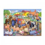 Puzzle  The-House-of-Puzzles-1806 Pièces XXL - Farm Friends