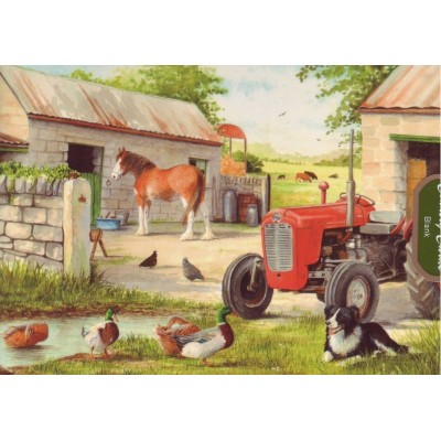 Puzzle The-House-of-Puzzles-1882 Pièces XXL - Dog & Duck