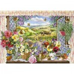 Puzzle  The-House-of-Puzzles-2193 Pièces XXL - Harvest View