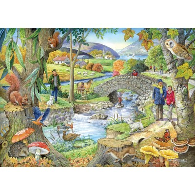 Puzzle The-House-of-Puzzles-2322 Riverside Walk