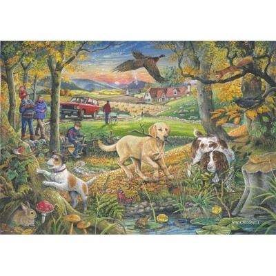Puzzle The-House-of-Puzzles-2407 Pièces XXL - Evening Walk