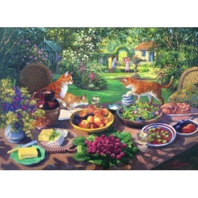 Puzzle The-House-of-Puzzles-2414 Pièces XXL - Garden Party