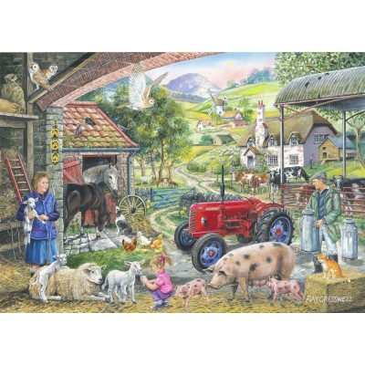 Puzzle The-House-of-Puzzles-2483 Trouvez les 15 Différences No.2 - On The Farm