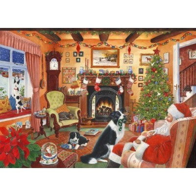 Puzzle The-House-of-Puzzles-2506 Christmas Collectors Edition No.7 - Me Too Santa
