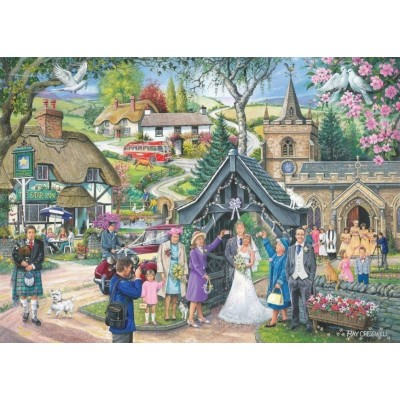 Puzzle The-House-of-Puzzles-2834 Trouvez les 15 Différences No.4 - Wedding Day