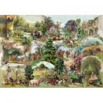 Puzzle  The-House-of-Puzzles-3107 Pièces XXL - Pastoral