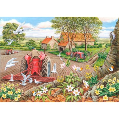 Puzzle The-House-of-Puzzles-3114 Pièces XXL - Red Harrows