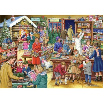 Puzzle The-House-of-Puzzles-3152 Christmas Collectors Edition No.9 - Christmas Treats