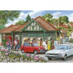 Puzzle  The-House-of-Puzzles-3411 Pièces XXL - Fill Her Up Please